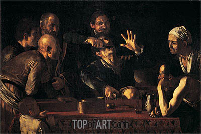 The Tooth Extraction, c.1610 | Caravaggio| Painting Reproduction