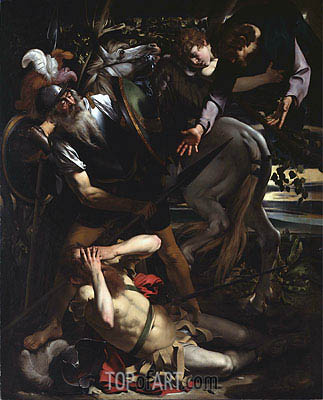 The Conversion of St. Paul, c.1600/01 | Caravaggio | Painting Reproduction