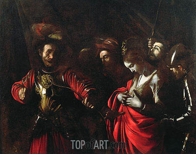 Martyrdom of St. Ursula, c.1609/10 | Caravaggio | Painting Reproduction