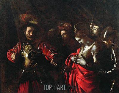 Caravaggio | Martyrdom of St. Ursula, c.1609/10