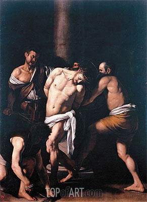 Flagellation, 1607 | Caravaggio| Painting Reproduction