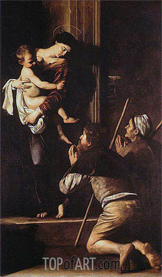 Madonna di Loreto, c.1603/04 | Caravaggio| Painting Reproduction