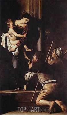 Caravaggio | Madonna di Loreto, c.1603/04