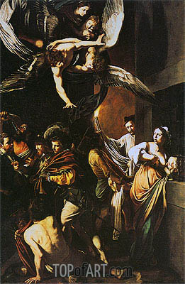 Caravaggio | The Seven Acts of Mercy, 1606