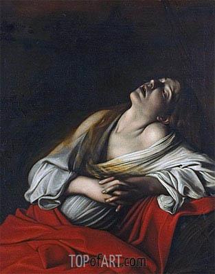 Caravaggio | Mary Magdalen in Ecstasy, 1610