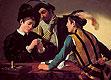 The Cardsharps (I Bari) | Michelangelo Merisi da Caravaggio