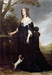 Portrait of Elizabeth, Queen of Bohemia, c.1623 by Michiel Jansz Miereveld | Painting Reproduction