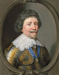 Portrait of Frederik Hendrik, Prince of Orange, Undated by Michiel Jansz Miereveld | Painting Reproduction
