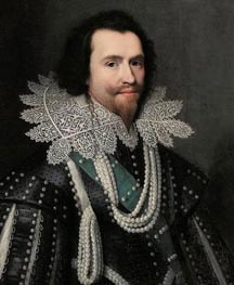 George Villiers, Duke of Buckingham, c.1625/26 by Michiel Jansz Miereveld | Painting Reproduction
