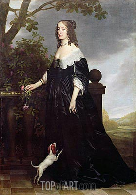 Michiel Jansz Miereveld | Portrait of Elizabeth, Queen of Bohemia, c.1623
