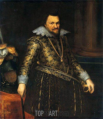 Philip William, Prince of Orange,  | Michiel Jansz Miereveld | Painting Reproduction