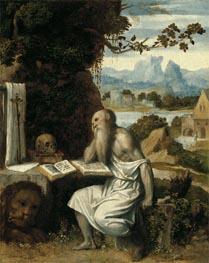 Saint Jerome, c.1525 by Moretto da Brescia | Painting Reproduction