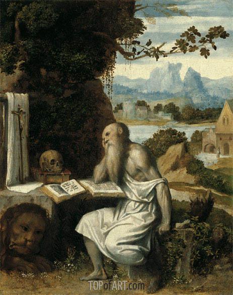 Moretto da Brescia | Saint Jerome, c.1525