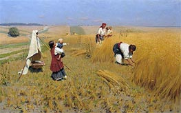 Harvest in Ukraine, 1896 von Mykola Pymonenko | Gemälde-Reproduktion