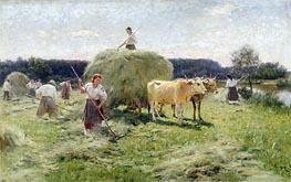 Haymaking, Undated von Mykola Pymonenko | Gemälde-Reproduktion
