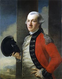 Portrait of Colonel Thomas Aubrey, 1772 by Nathaniel Hone | Painting Reproduction