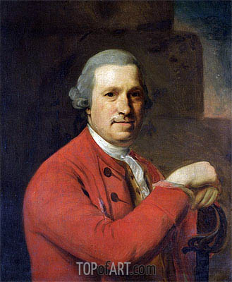 Portrait of General Lloyd, 1773 | Nathaniel Hone | Painting Reproduction