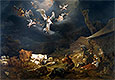 The Annunciation to the Shepherds | Nicolaes Berchem