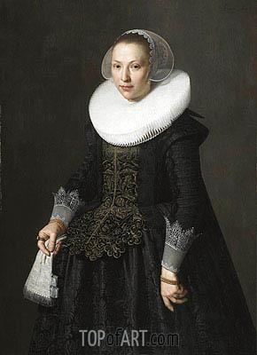Nicolaes Pickenoy | Portrait of a Lady, 1633