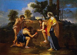The Shepherds of Arcadia (Et In Arcadia Ego), c.1638/40 by Nicolas Poussin | Painting Reproduction