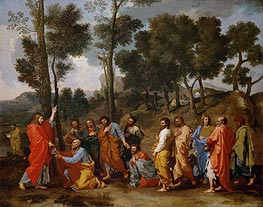 Ordination, c.1638/40 by Nicolas Poussin | Painting Reproduction