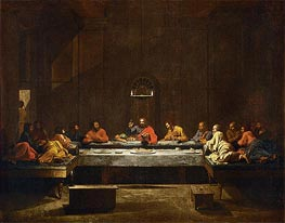 Holy Eucharist, c.1638/40 by Nicolas Poussin | Painting Reproduction