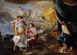 Selene and Endymion, c.1630 by Nicolas Poussin | Painting Reproduction
