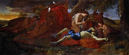 Venus Weeping over Adonis, c.1625 by Nicolas Poussin | Painting Reproduction