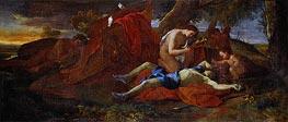 Venus Weeping over Adonis | Nicolas Poussin | Gemälde Reproduktion