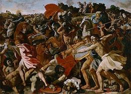 Victory of Joshua over the Amalekites | Nicolas Poussin | veraltet