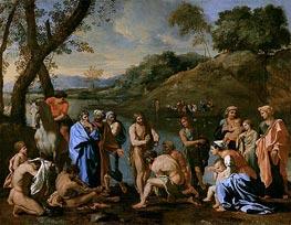 St. John Baptising the People | Nicolas Poussin | Gemälde Reproduktion