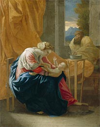 The Holy Family (The Roccatagliata Madonna) | Nicolas Poussin | Gemälde Reproduktion