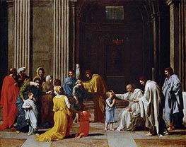 Confirmation, c.1638 by Nicolas Poussin | Painting Reproduction
