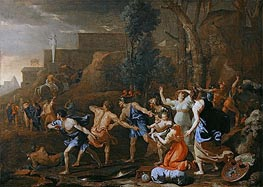 The Saving of the Infant Pyrrhus | Nicolas Poussin | Gemälde Reproduktion