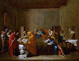 Extreme Unction, c.1638/40 by Nicolas Poussin | Painting Reproduction