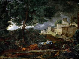 The Storm, 1651 by Nicolas Poussin | Painting Reproduction