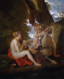 A Bacchic Scene | Nicolas Poussin | Gemälde Reproduktion