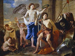 The Triumph of David | Nicolas Poussin | Gemälde Reproduktion
