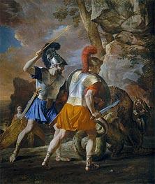 The Companions of Rinaldo | Nicolas Poussin | veraltet
