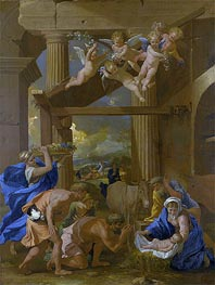The Adoration of the Shepherds | Nicolas Poussin | veraltet