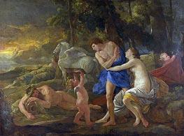 Cephalus and Aurora | Nicolas Poussin | Gemälde Reproduktion