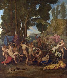 The Triumph of Silenus | Nicolas Poussin | Gemälde Reproduktion