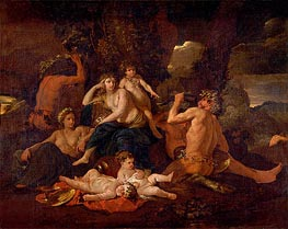 The Childhood of Bacchus | Nicolas Poussin | Gemälde Reproduktion