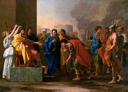 The Continence of Scipio | Nicolas Poussin | veraltet