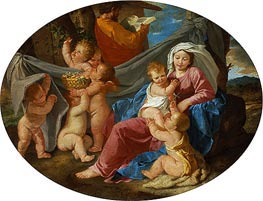The Rest on the Flight into Egypt | Nicolas Poussin | veraltet