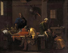 The Testament of Eudamidas | Nicolas Poussin | Gemälde Reproduktion