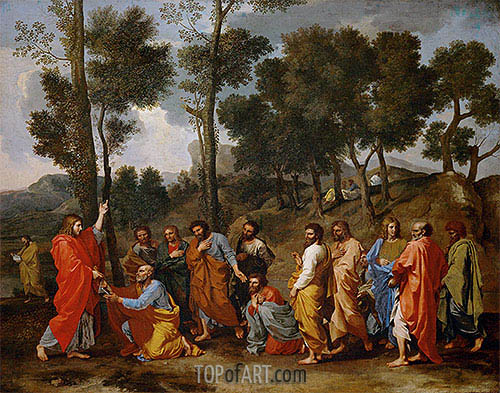 Ordination, c.1638/40 | Nicolas Poussin | Painting Reproduction
