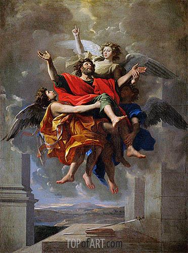 Nicolas Poussin | The Vision of St. Paul, c.1649/50