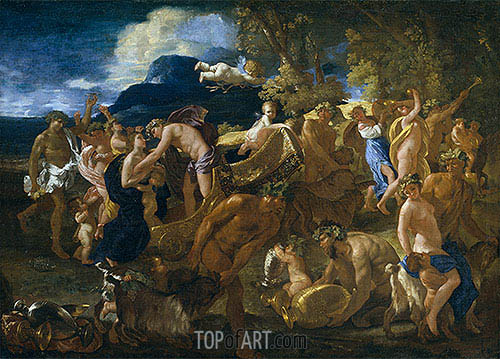 Bacchanal, c.1625/26 | Nicolas Poussin| Painting Reproduction