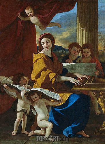 Nicolas Poussin | Saint Cecile, c.1635